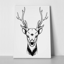 Hand sketched deer illustration 579475156 a