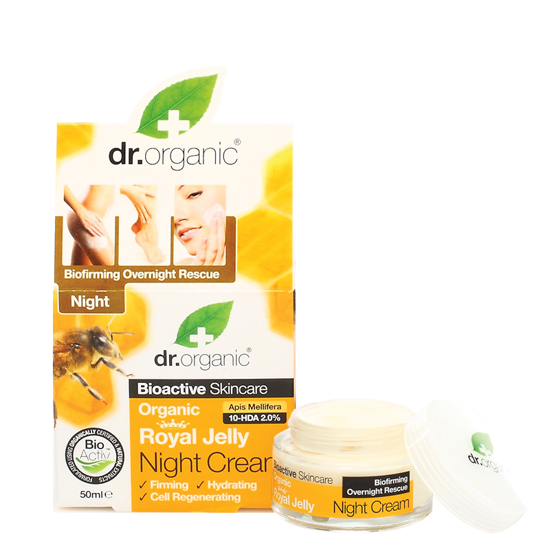 Organic Royal Jelly Night Cream