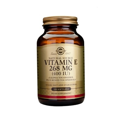 Solgar - Vitamin E 400 IU - 100softgels