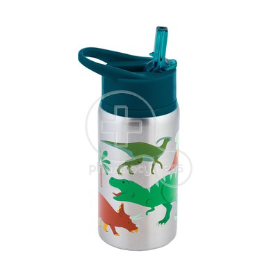 STEPHEN JOSEPH - Stainless Steel Water Bottle (Dino) - 532ml