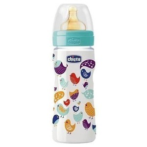 Chicco well being 4m  latex plastic 330ml
