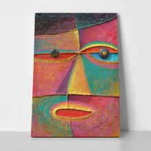 Face 10 original acrylic a