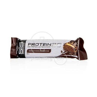 SIS - PROTEIN20 Double Chocolate Brownie Bar - 55gr