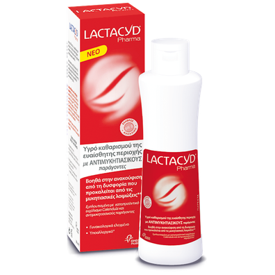 Lactacyd pharma with antifungal properties