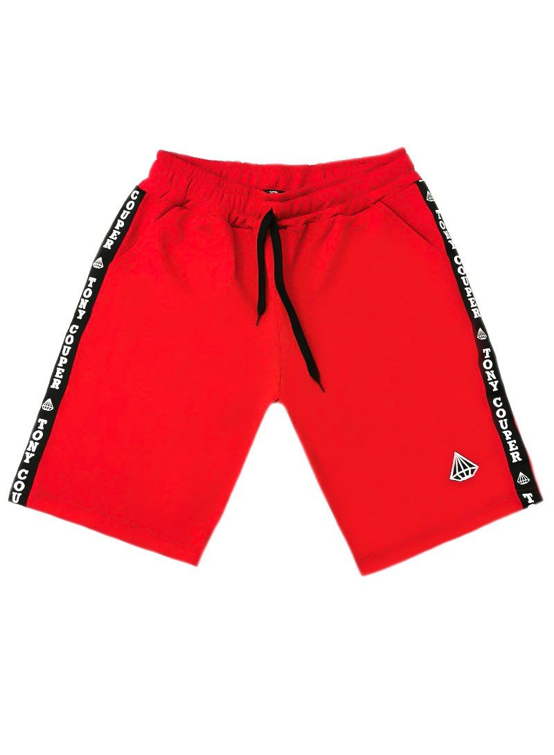 TONY COUPER RED GROSS SHORTS