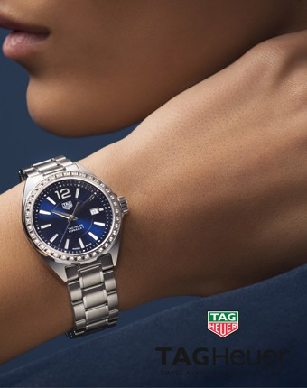 Tag heuer formula lady banner