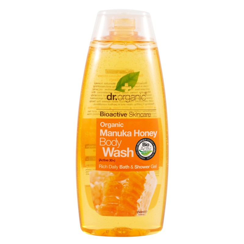 Organic Manuka Honey Body Wash 250ml