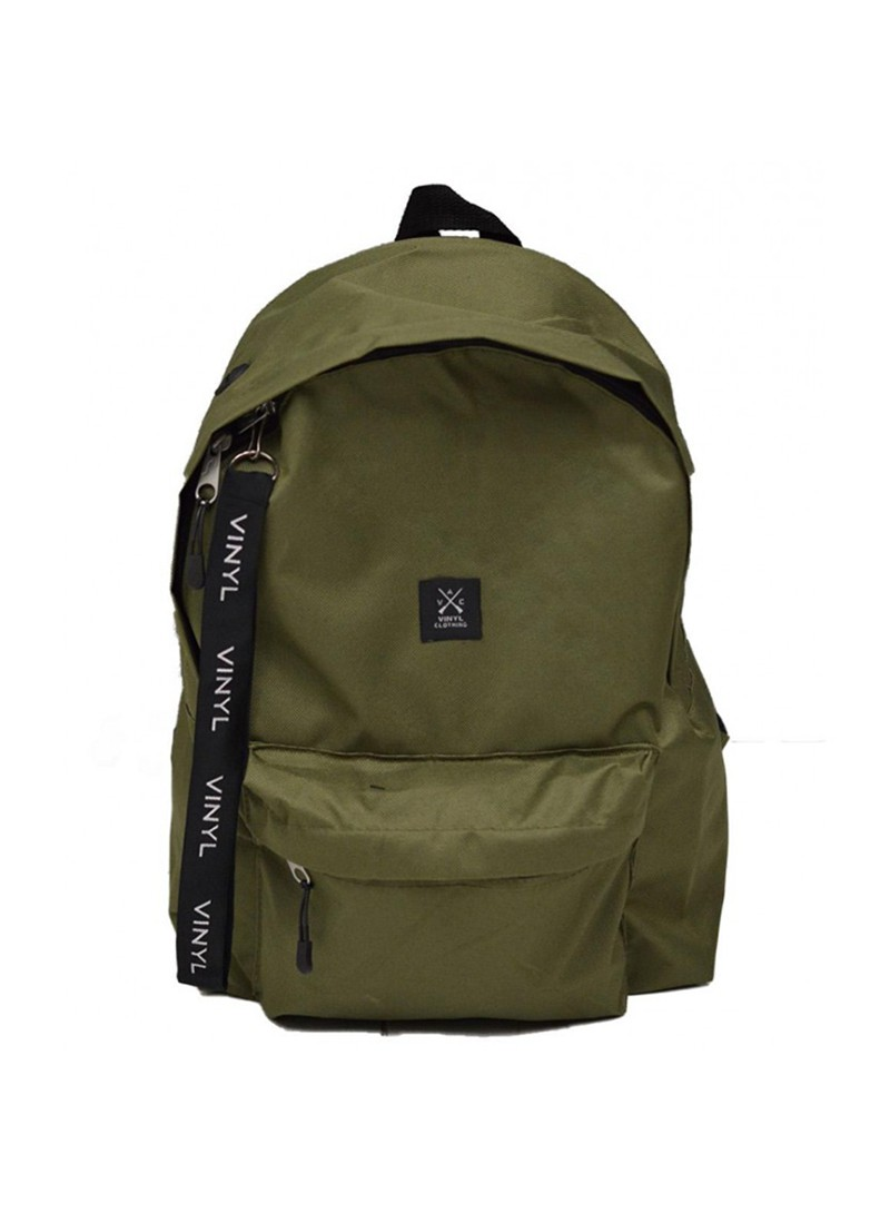 VINYL ART CLOTHING KHAKI BACKPACK