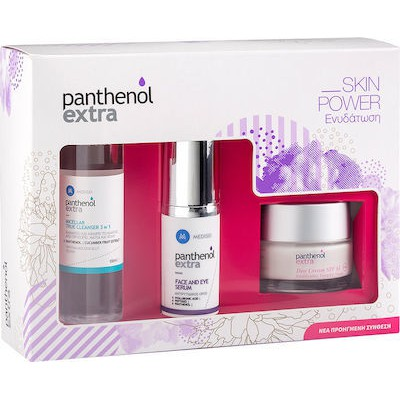 PANTHENOL EXTRA SKIN POWER DAY CR. + SERUM + MICELLAR PROMO