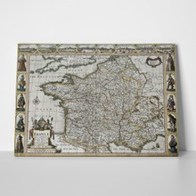 France old map 1627