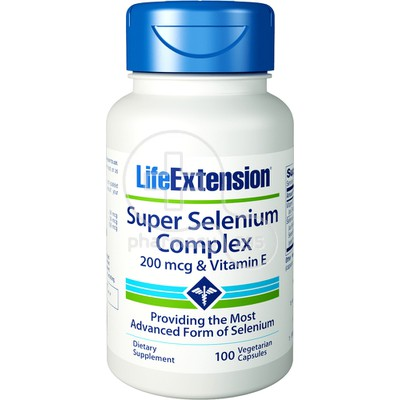 LIFE EXTENSION SUPER SELENIUM COMPLEX 200mcg 100caps