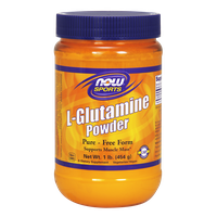 NOW SPORTS L-GLUTAMINE POWDER 454 GR