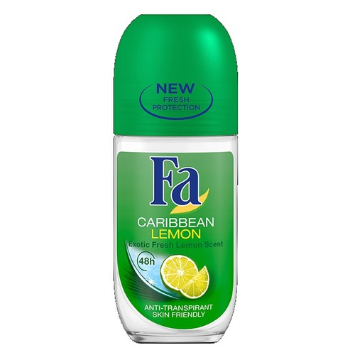 FA ΑΠΟΣΜΗΤΙΚΟ ROLL ON CARIBBEAN LEMONS 50ML