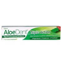OPTIMA ALOEDENT TRIPLE ACTION 100ML & FREE TOOTHBRUSH