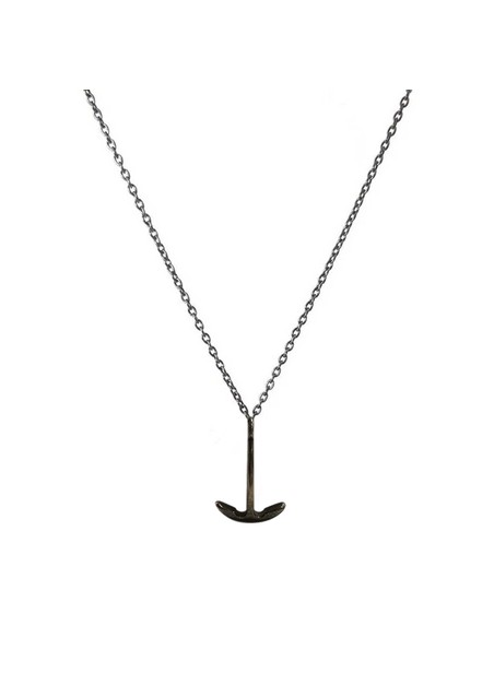 MILLIONALS ANCHOR STAINLESS STEEL CHAIN NECKLACE