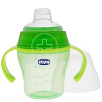 CHICCO - Soft Cup 6m+ (πράσινο) - 200ml