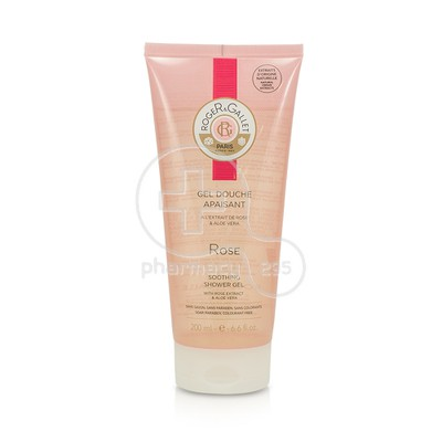 ROGER & GALLET - ROSE Gel Douche Apaisant - 200ml