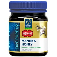 MANUKA HEALTH MGO 400+ MANUKA HONEY 250 GR ORGANIC