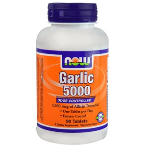 Now foods garlic 5000 mcg