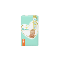 PAMPERS PREMIUM CARE No3 (6-10 KG) JUMBO PACK (60TEM)