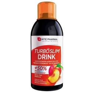 Forte pharma turboslim drink peach flavour  500 ml