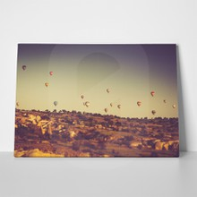 Balloons flying over cappadocia 244752820 a
