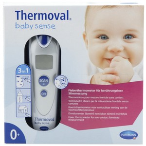 Thermoval baby sense thermometer