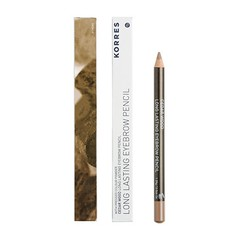 Korres Eyebrow Pencil 01 Dark Shade 1.29gr