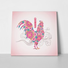 Pink rooster design 447466942 a