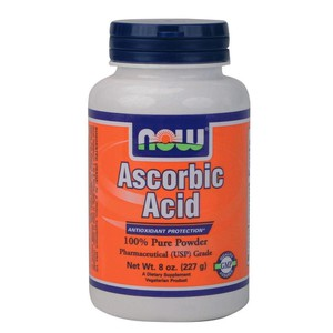 Now foods 0790.ascorbicacid8oz