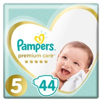 Pampers Premium Care No5 11-18kg 44 Πάνες