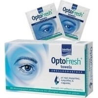 Intermed Optofresh Towelettes 20 Οφθαλμικά Μαντηλάκια