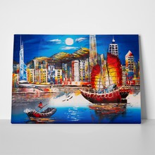 Oil painting hong kong a