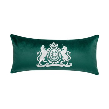 Velvet Long Cushion - Green