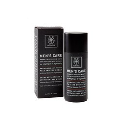 Apivita Men's Care Moisturizing Anti-wrinkle Cream for face & eyes with cardamom & propoli