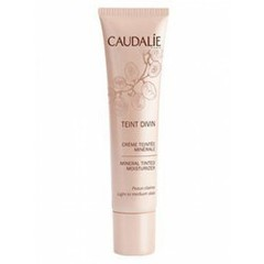 Caudalie Teint Divin Tinted Moisturizer Light To Medium Skin Ενυδατική Κρέμα 30ml