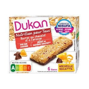 Dukan orange bars