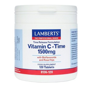 LAMBERTS Vitamin C-Time 1500mg 120 tabs