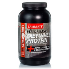 Lamberts DIET WHEY PROTEIN STRAWBERRY - Φράουλα, 1000gr