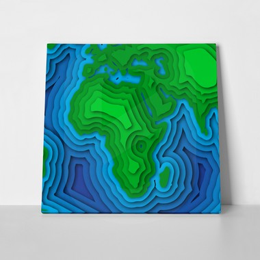 3d papercut earth with clouds 1049889320 a