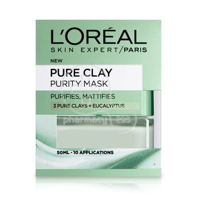 L'OREAL PARIS - PURE CLAY Purity Mask - 50ml