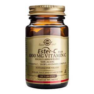 SOLGAR Ester-C 1000mg vitamin C 30tablets