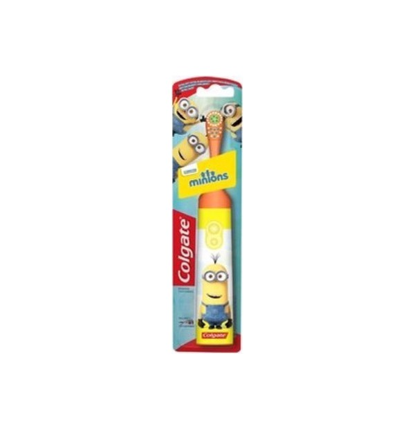 COLGATE ΟΔ/ΒΟΥΡΤΣΑ DESIGN-IT BATTERY KIDS MINIONS