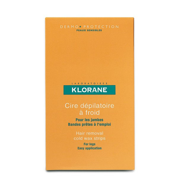 KLORANE DEPILATOIRE CIRE DEP A FROID POUR JAMBES  6ΤΕΜ.