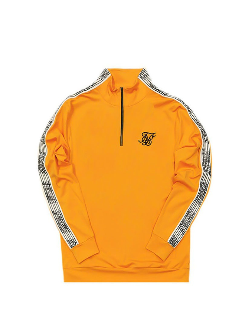 SikSilk 1/4 Zip Overhead Runner - Yellow