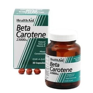 Health aid beta carotene