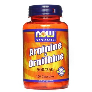 Now foods l arginine ornithine