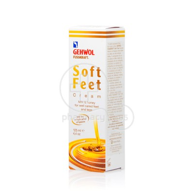 GEHWOL - FUSSKRAFT - Soft Feet Cream - 125ml
