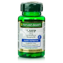 Nature's Bounty 5-HTP 50mg, 60caps