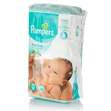 Pampers No.0 (1-2.5kg) - ProCare, 38τμχ.